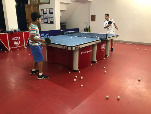 Ping Pong academy in gurgaon