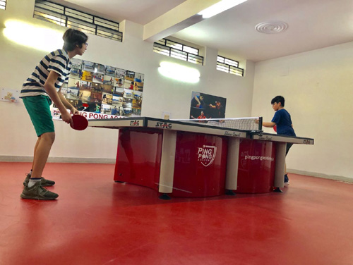 Table tennis coaching classes in gurgaon